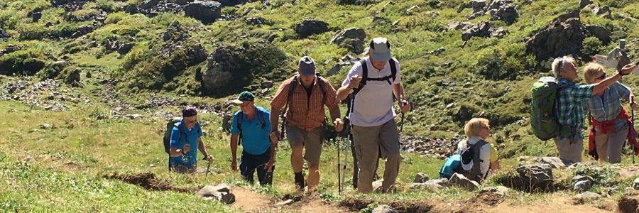 Wandern in den Bergen vom 28.09. bis 01.10.2017